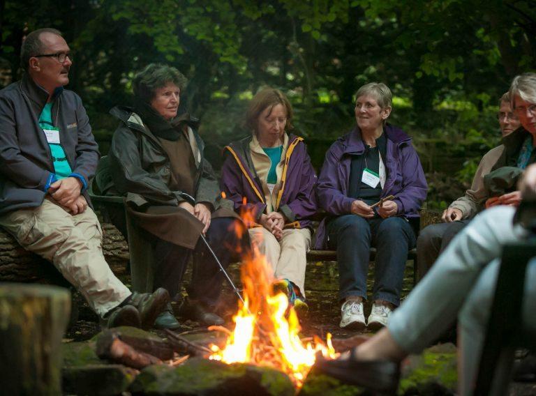 Bonfire at Woodbrooke