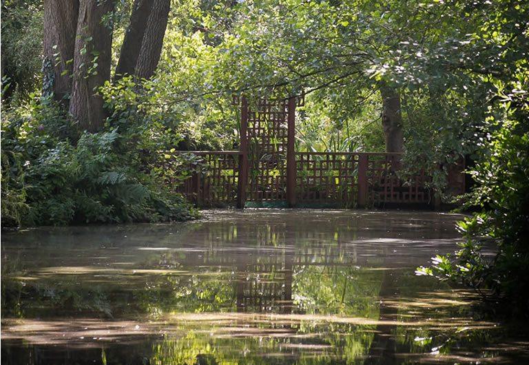 The Woodbrooke Lake