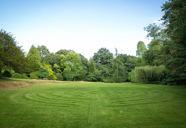 Labyrinth at Woodbrooke