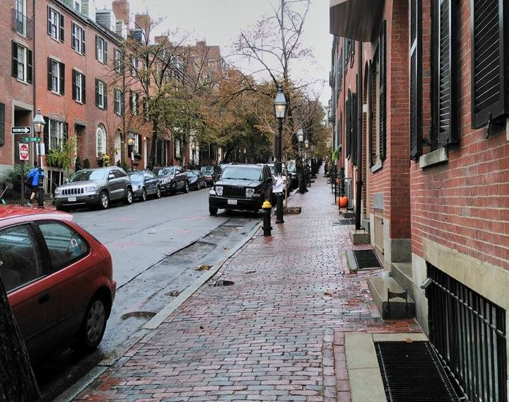 Beacon Hill, near the meeting house.