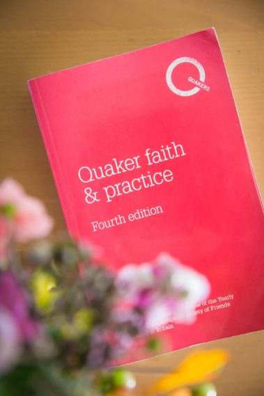 What's the question? Reading Quaker faith & practice, Yearly Meeting 2018, and books of discipline Woodbrooke