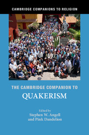 Cambridge Companion to Quakerism - Out Now! Woodbrooke Quaker Conference Centre